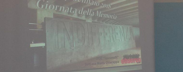 27 gennaio 2018: Conferenza per la Giornata della Memoria